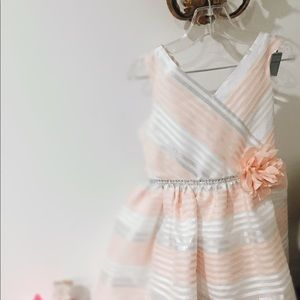 Other - Special occasion striped dress